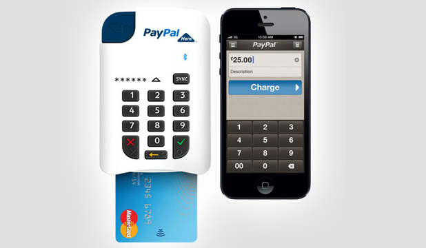 PayPal chip & PIN gadget