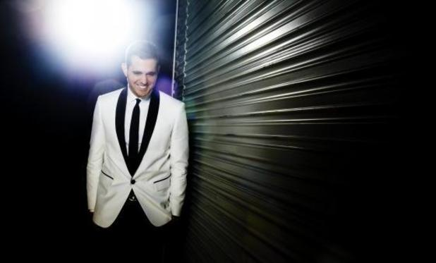 Michael Bublé 'To Be Loved' album promo image.