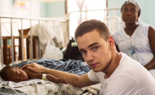 One Direction visit an Emergency Ward in Africa