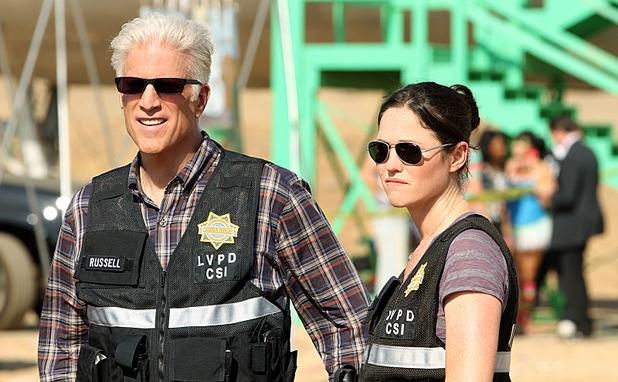 Jorja Fox as Sara Sidle in 'CSI: Crime Scene Investigation'