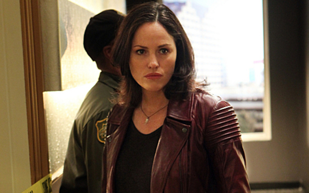 Jorja Fox as Sara Sidle in 'CSI: Crime Scene Investigation'