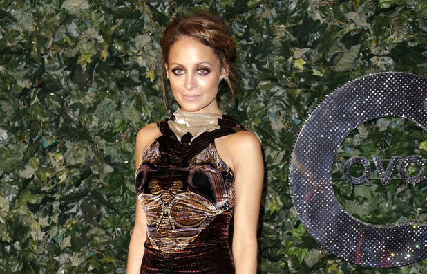 Nicole Richie attends QVC Red Carpet Style at Four Seasons Hotel.