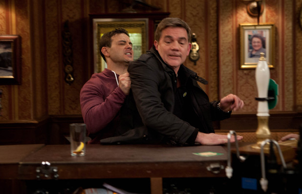 Jason and Karl in Coronation Street