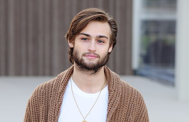 Douglas Booth, Burberry Prorsum show, Autumn Winter 2013