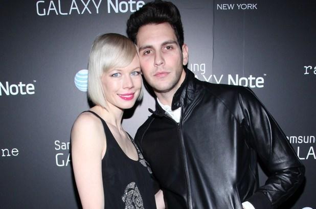 Cobra Starship's Gabe Saporta and fiancee Erin Fetherston