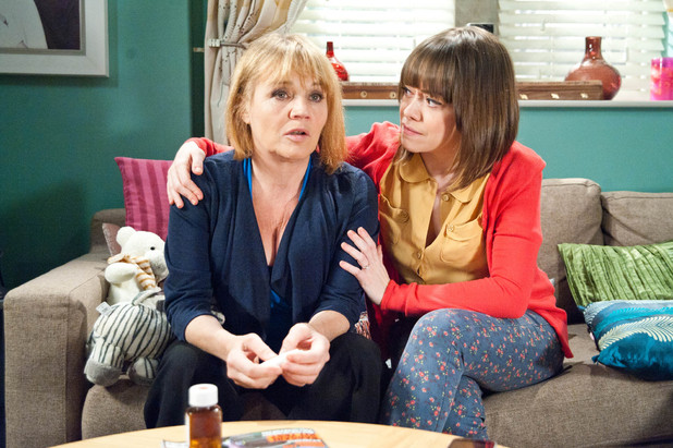 6496: Gennie comforts Brenda as she expresses her fear of having an operation
