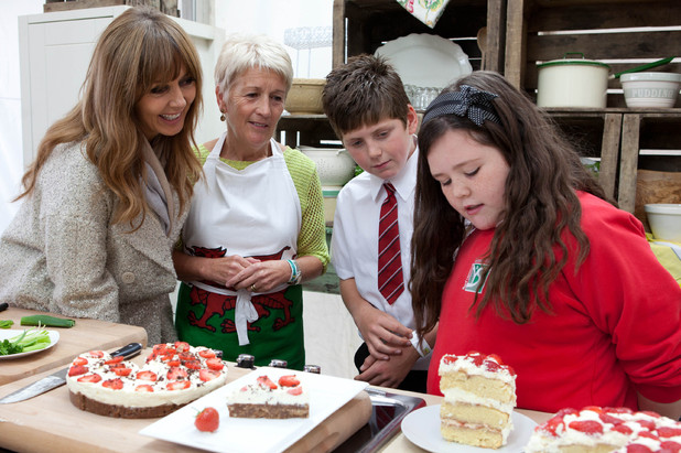 &#39;Food Glorious Food&#39; - Carol Vorderman with Katlyn Giles 