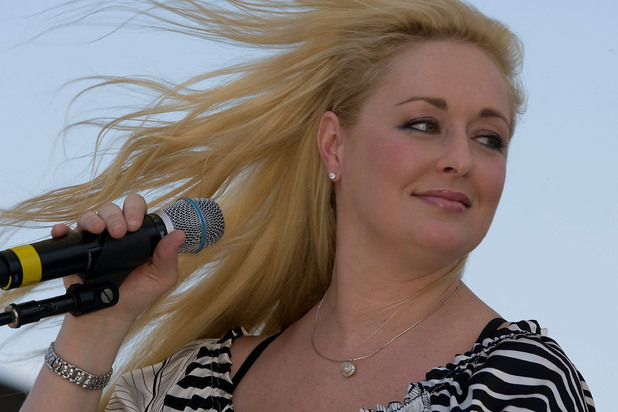 Mindy McCready performs at the 2008 CMA Music Festival in Nashville