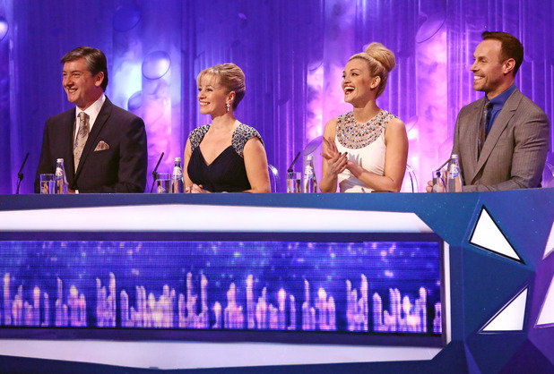 Dancing on Ice: The judges give their comments.