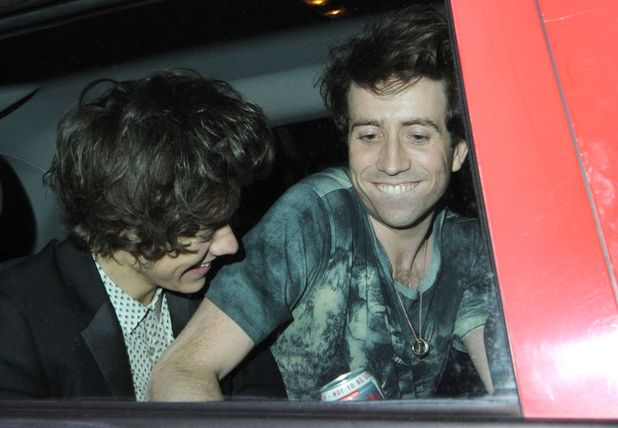 Harry Styles, Nick Grimshaw, Brits 2013