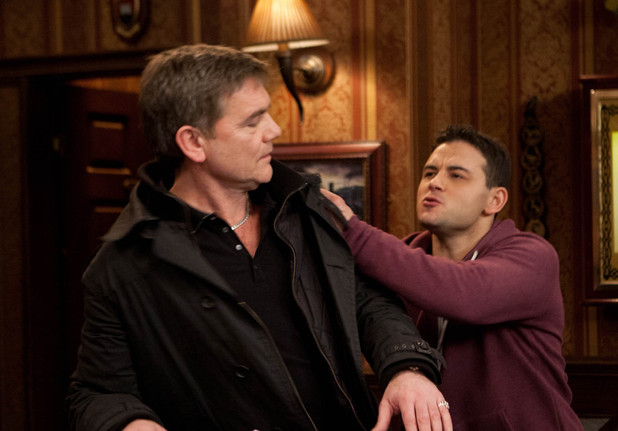 Karl and Jason in Coronation Street