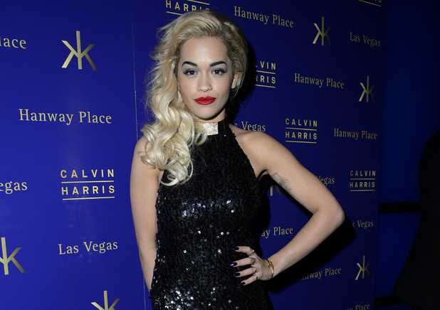 Rita Ora attends Jay-Z's Roc-Nation Brits 2013 Afterparty