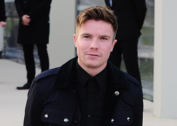 Joe Dempsie, Burberry Prorsum show, Autumn Winter 2013, London Fashion Week