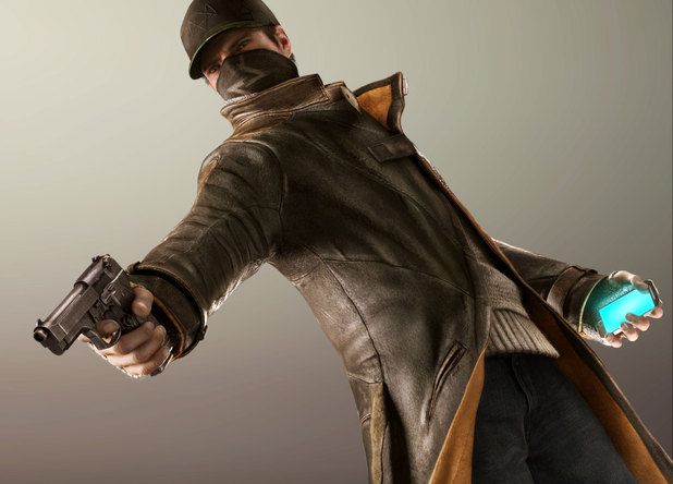 Aiden Pearce from the 'Watch Dogs' game for PlayStation 4
