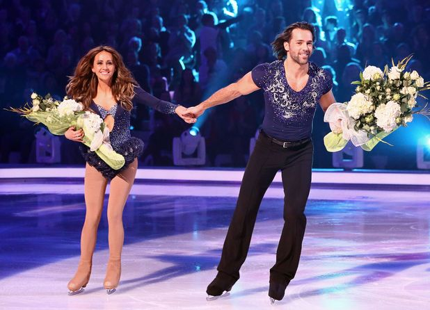 Dancing on Ice: Samia Ghadie and Sylvain Longchambon leave the competition.