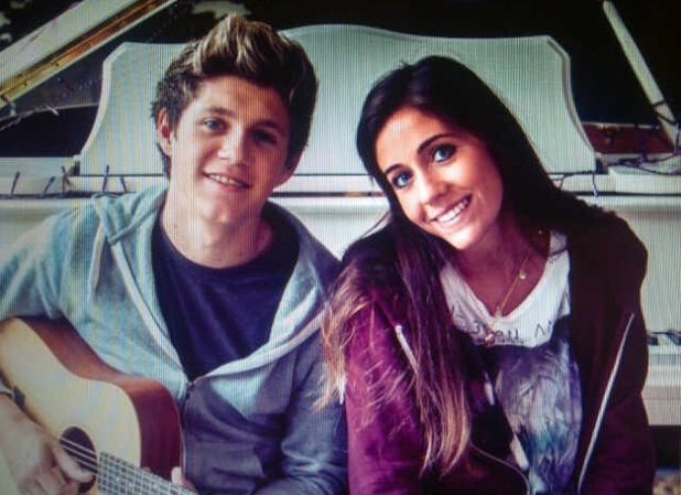 One Direction Niall Horan with alleged ex Amy Green.