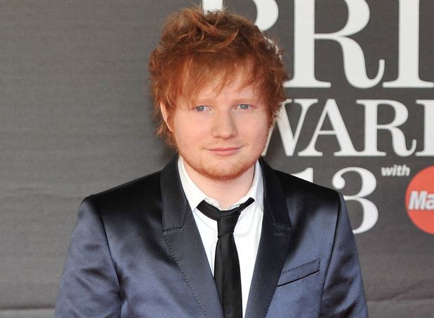 Ed Sheeran, The 2013 Brit Awards (Brits) held at the O2 arena