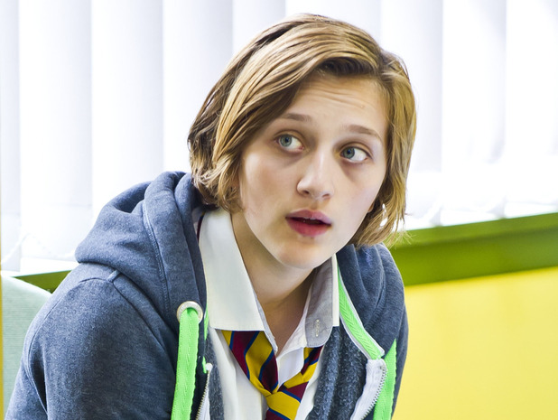 Waterloo Road's Kacey Barry