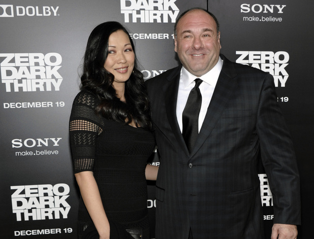 'Zero Dark Thirty' premiere: James Gandolfini and his wife Deborah Lin