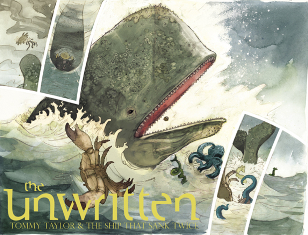 'The Unwritten: Tommy Taylor and the Ship That Sank Twice' teaser image