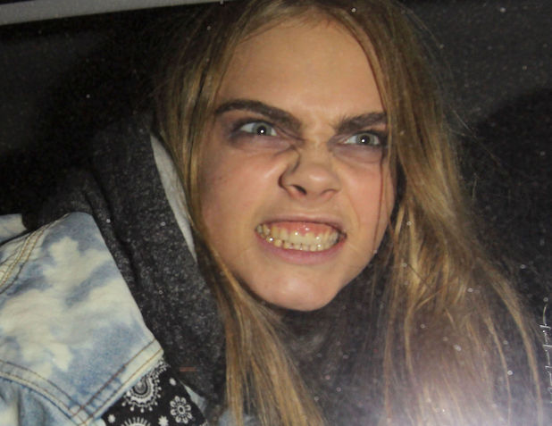 Cara Delevingne, London Fashion Week 2013