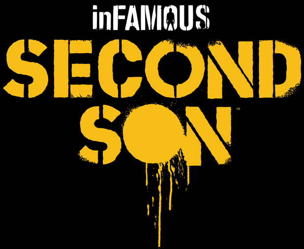 &#39;InFAMOUS Second Son&#39; logo