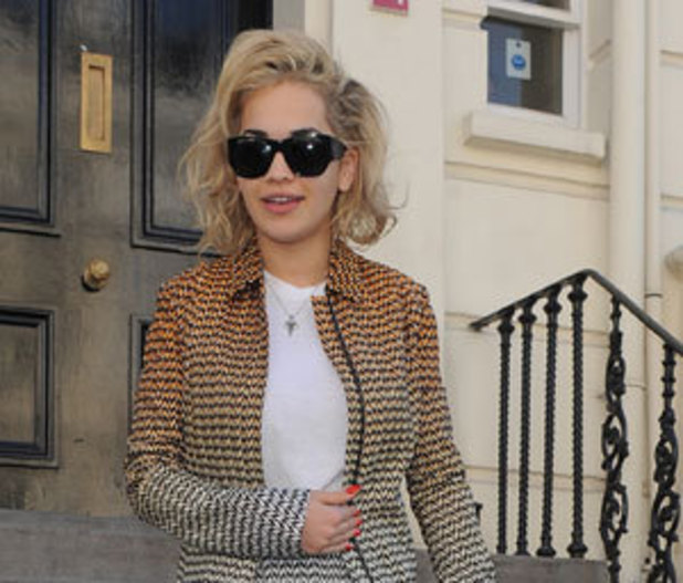 Miss Mode: Rita Ora trouser suit
