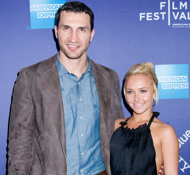 Wladimir Klitschko and Hayden Panettiere at the 2011 Tribeca Film Festival