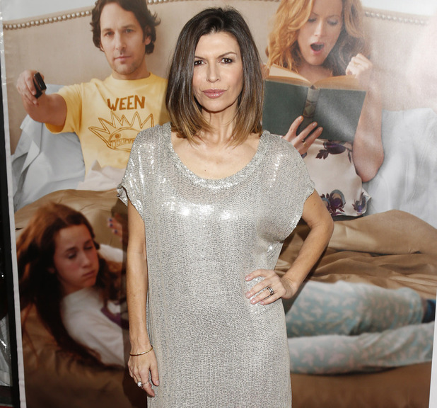 Finola Hughes attends the premiere of &quot;This Is 40&quot; at Grauman&#39;s Chinese Theatre on Wednesday, Dec. 12, 2012, in Los Angeles.