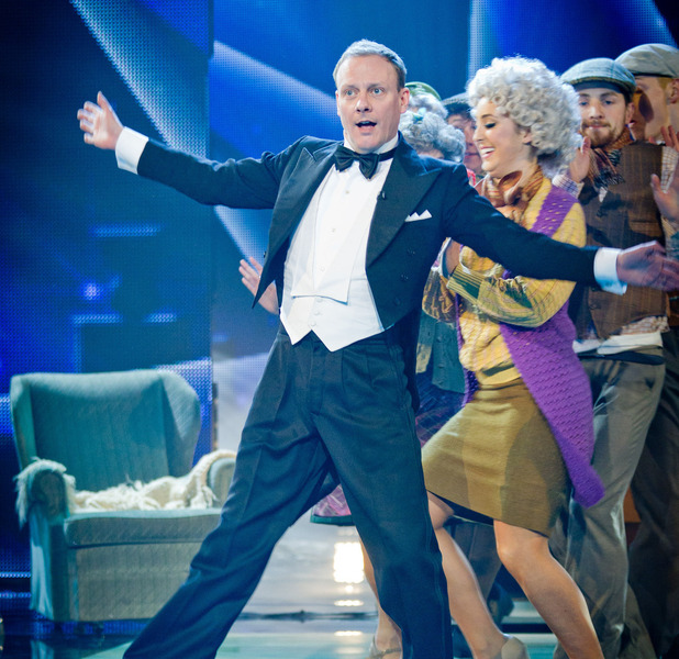 Antony Cotton in Let's Dance for Comic Relief