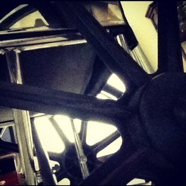 Lady GaGa posts picture of her wheelchair, which she&#39;s named Emma.