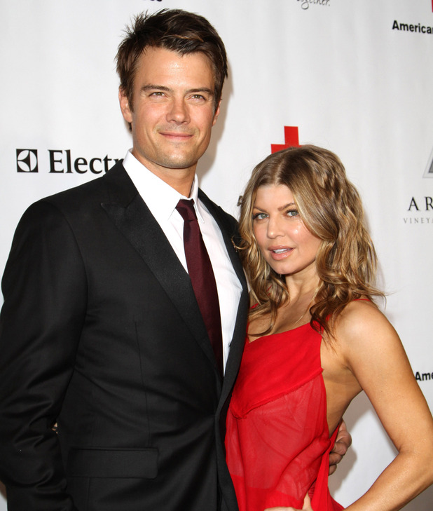 Josh Duhamel and Fergie The American Red Cross: Santa Monica Chapter's Annual Red Tie Affair at The Fairmont Miramar Hotel & Bungalows - Arrivals Santa Monica, California - 09.04.11 Where: California, United States When: 09 Apr 2011 Credit: WENN