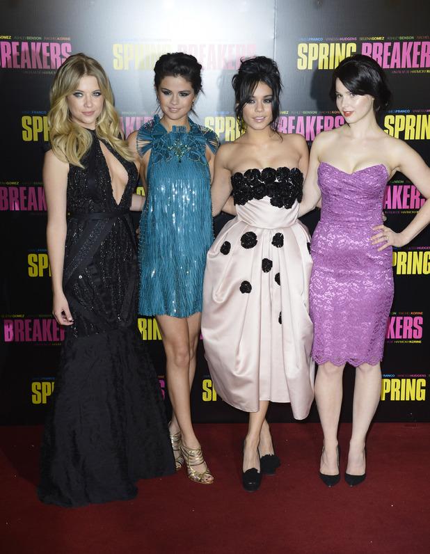 Ashley Benson,Selena Gomez, Vanessa Hudgens,Rachel Korine