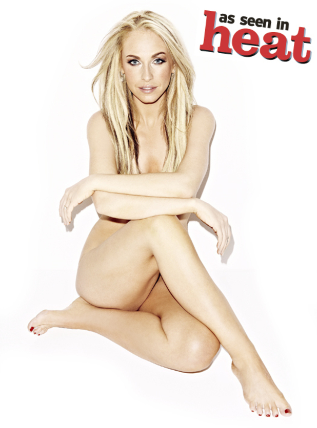 Josie Gibson goes naked for Heat Magazine