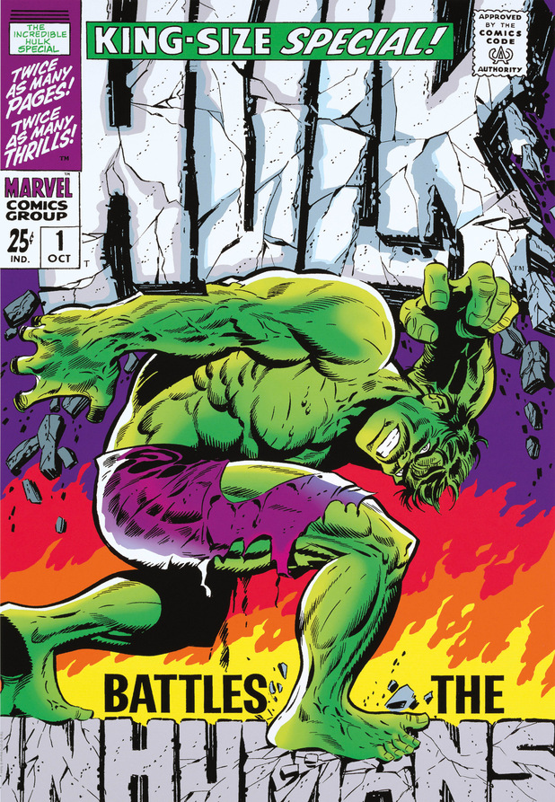 'The Incredible Hulk Special #1', curated by Stan Lee, available at Castle Galleries