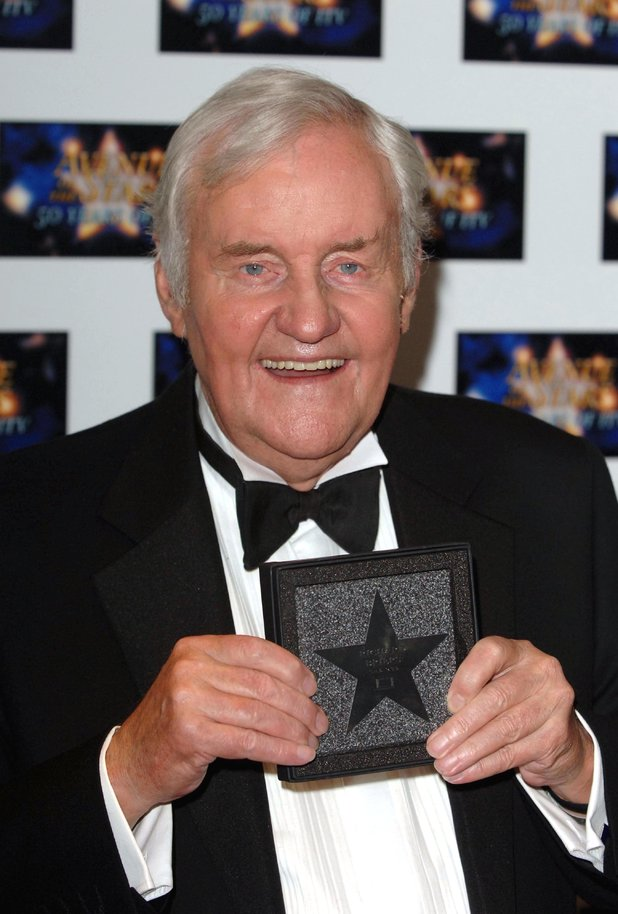 Richard Briers attends the 'Avenue Of The Stars' event
