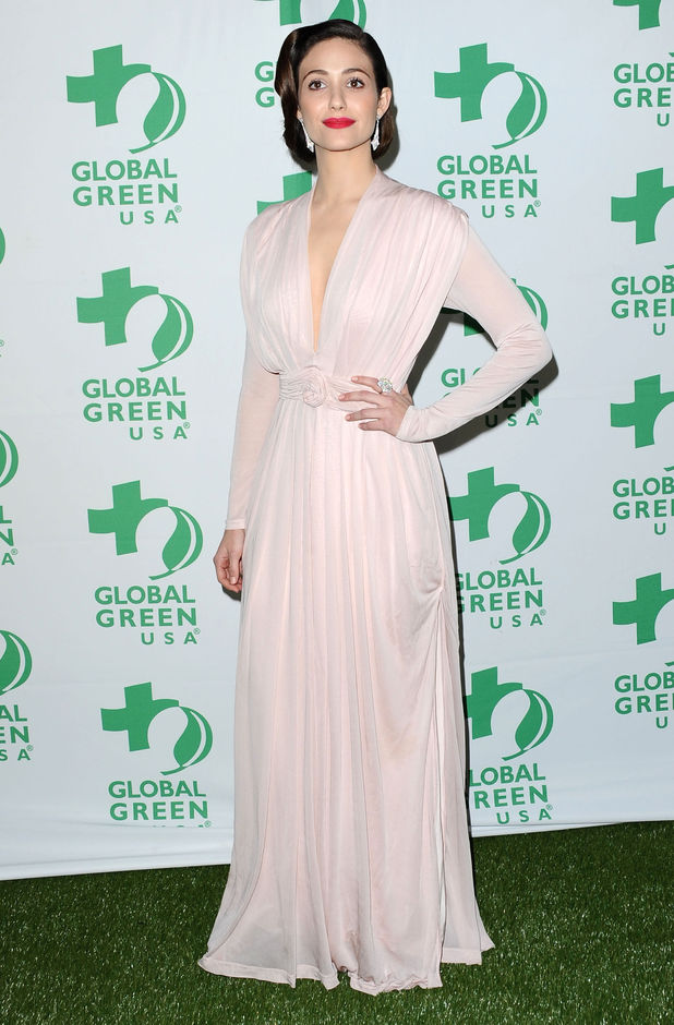 Emmy Rossum, Global Green USA's 10th Annual Pre-Oscar Party, Los Angeles
