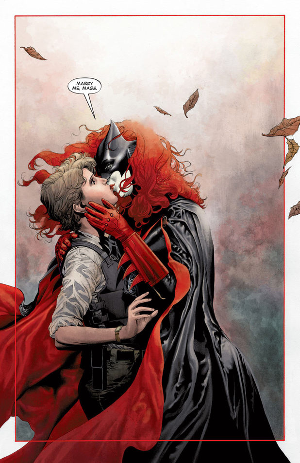 'Batwoman #17 artwork