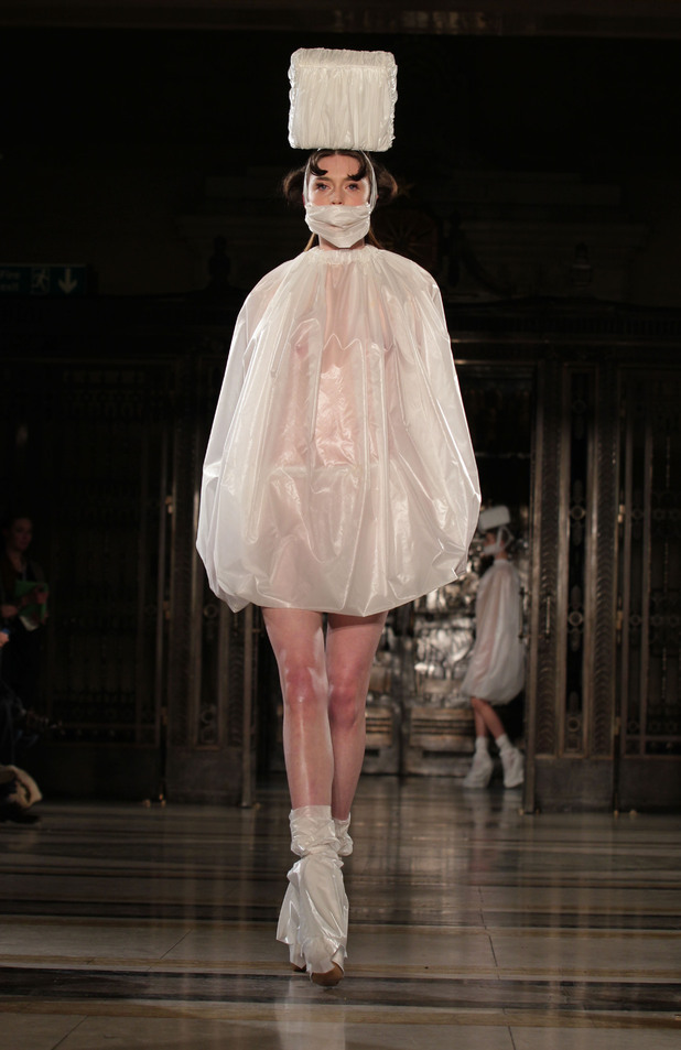 LFW 2013: Most outrageous outfits