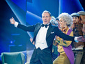 Antony Cotton and Katherine Ryan triumph in the Comic Relief dancing competition.