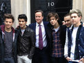David Cameron films cameo for One Direction's 'One Way Or Another (Teenage Kicks)'.