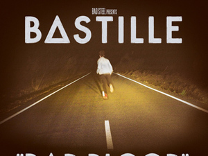 Bastille 'Bad Blood' album artwork.