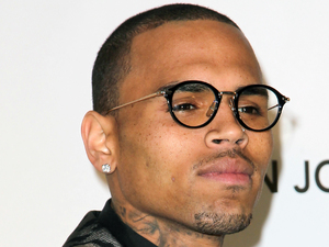 Chris Brown, 21st Annual Elton John AIDS Foundation&#39;s Oscar Viewing Party