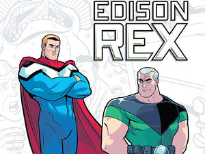 'Edison Rex' cover artwork