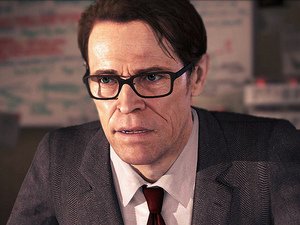 Screenshot of Willem Dafoe in 'Beyond: Two Souls'