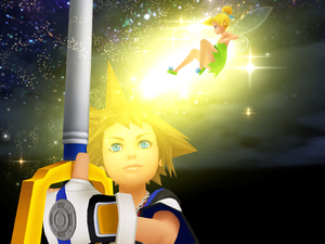'Kingdom Hearts HD 1.5 Remix' screenshot