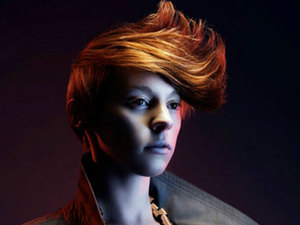 Elly Jackson from La Roux.