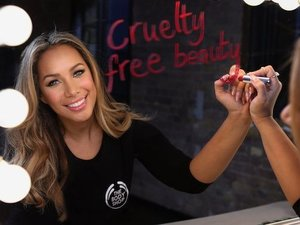 Leona Lewis The Body Shop promotional image.