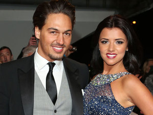 Lucy Mecklenburgh and Mario Falcone - NTAs January 2013