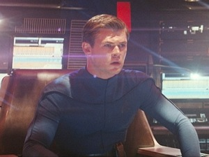 Chris Hemsworth as George Kirk in 'Star Trek' (2009)
